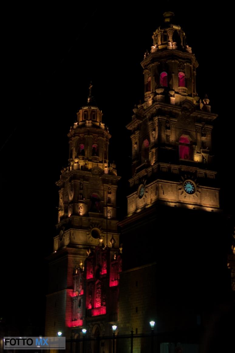Iluminación Catedral de Morelia